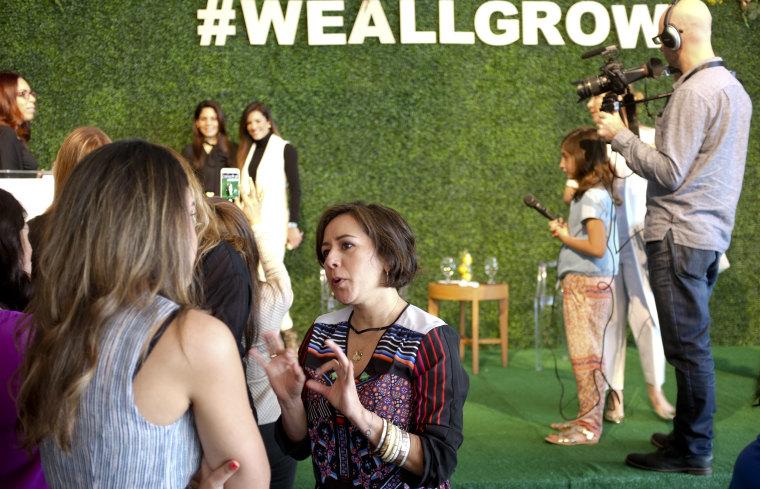 Alicia Ybarba, producer at NBC's TODAY show, at #WeAllGrow.