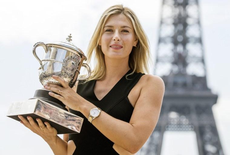 Image: FILES Maria Sharapova failed drug test at Australian Open