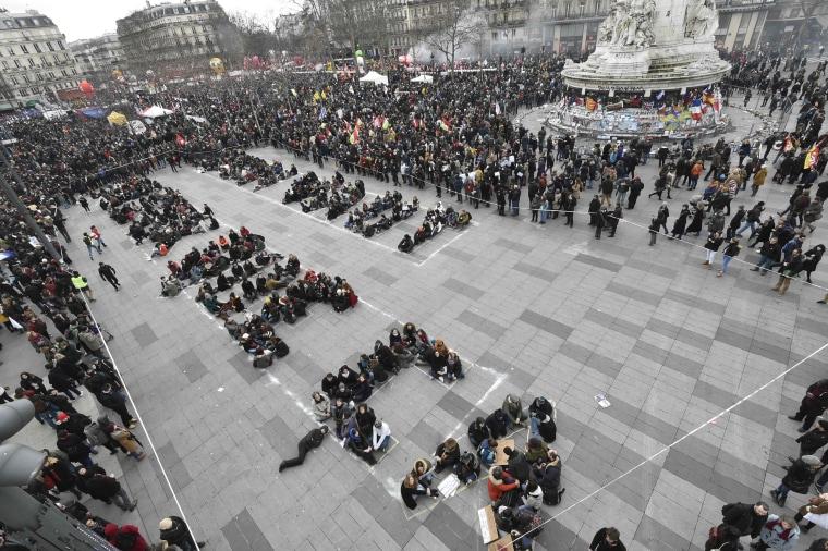 Image: FRANCE-ECONOMY-LABOUR-REFORM-STRIKE