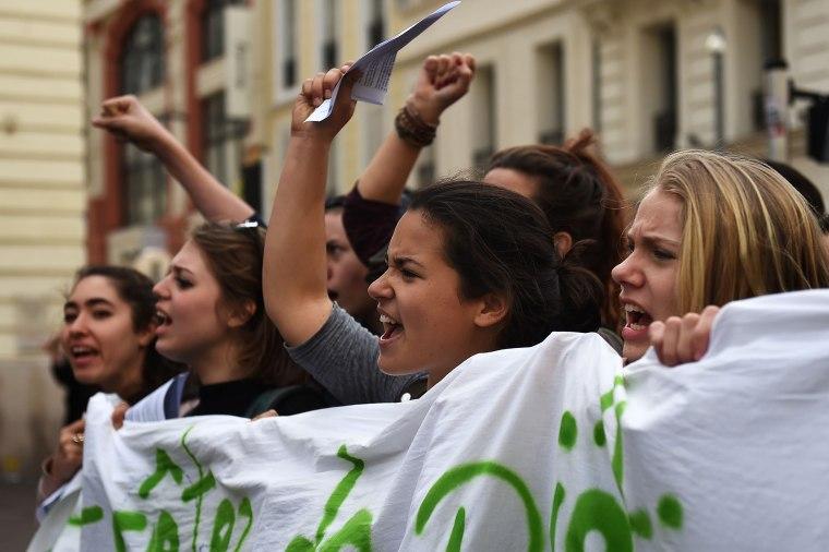 Image: FRANCE-ECONOMY-LABOUR-REFORM-DEMO-STRIKE