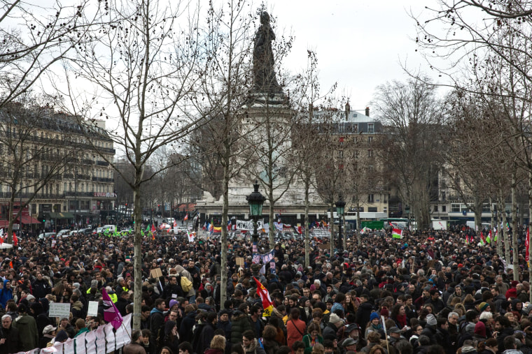 Image: General strike in Paris