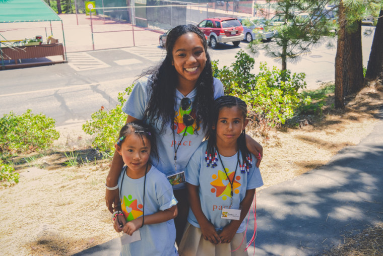 Fostered and adopted youth at Pact's annual Family Camp.