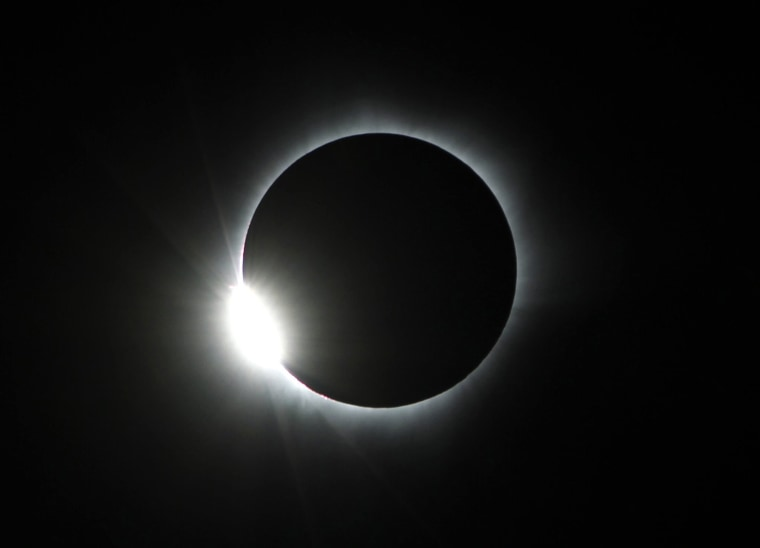 Image: Solar eclipse in Central Sulawesi, Indonesia