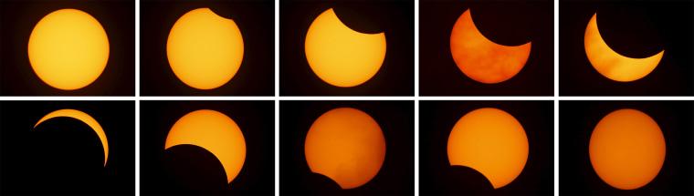 Image: Composite Solar Eclipse