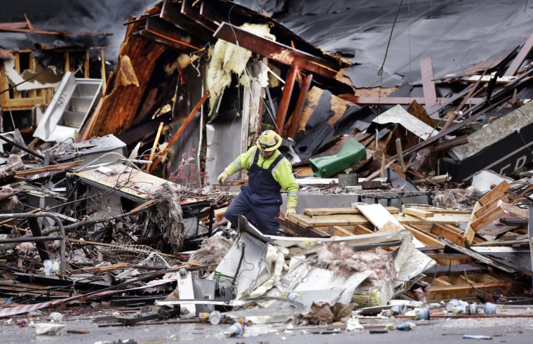 Image: APTOPIX Seattle Explosion