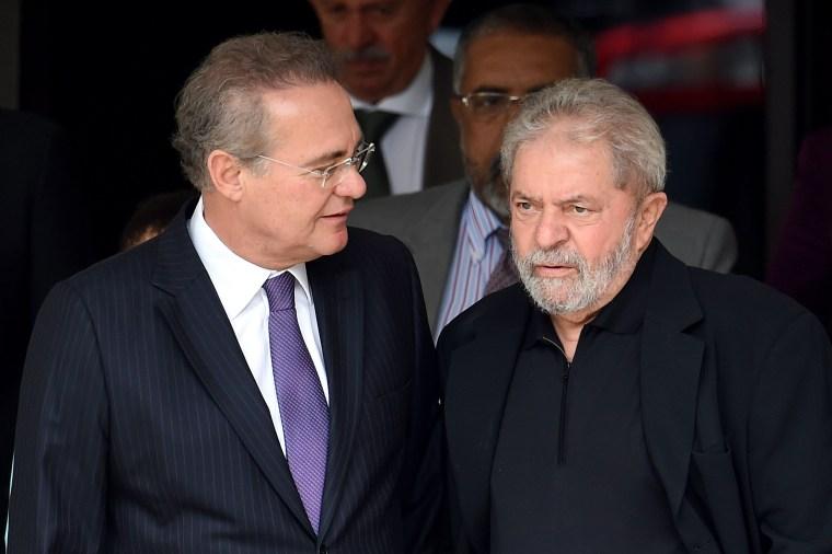 Image: BRAZIL-CORRUPTION-LULA-CALHEIROS
