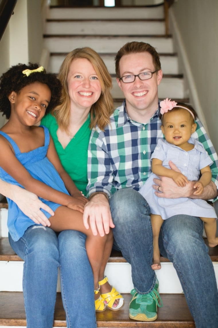 The Faris Family. Two-year-old Brooklyn Faris underwent a liver transplant in February.