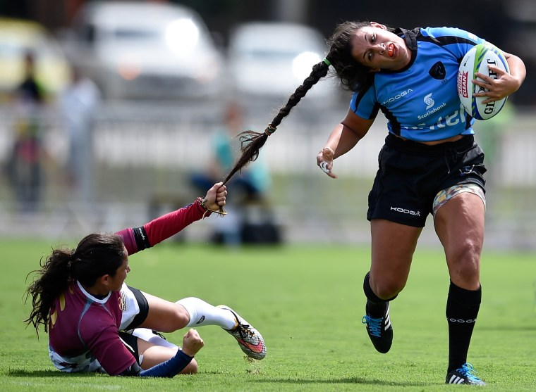 Image: BESTPIX - International Womens Rugby Sevens  - Aquece Rio Test Event for the Rio 2016 Olympics