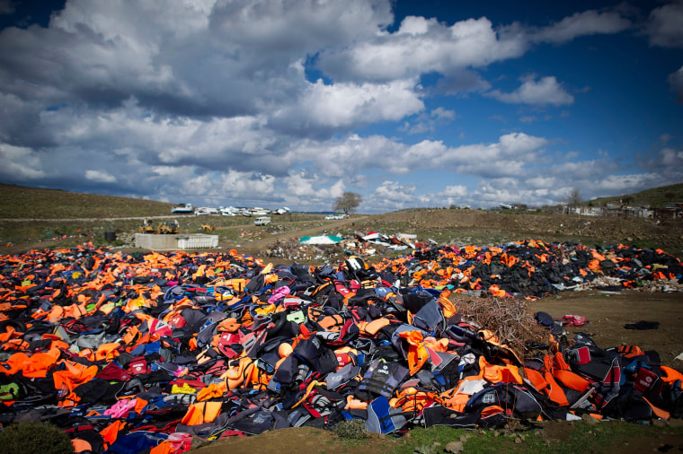 Image: *** BESTPIX *** Greek Island Of Lesbos On The Frontline Of the Migrant Crisis