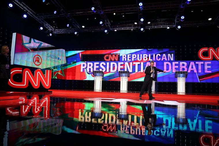 Image: Republican Candidates Debate In Miami