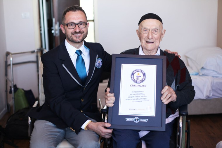 Image: Oldest Man in the World