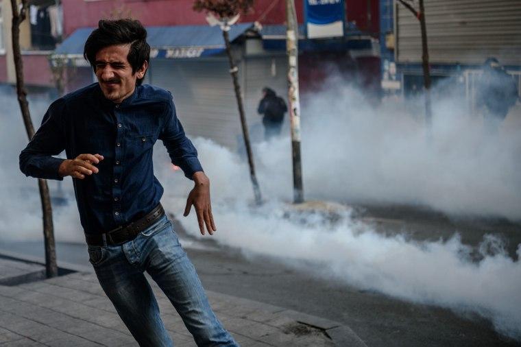 Image: TOPSHOT-TURKEY-ANNIVERSARY-DEMO
