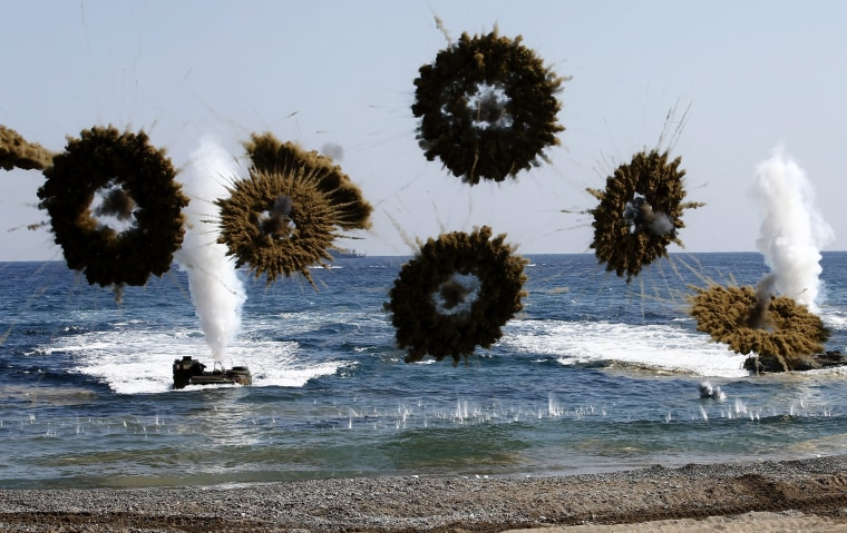 Image: US-South Korea Ssang Yong annual joint military exercises