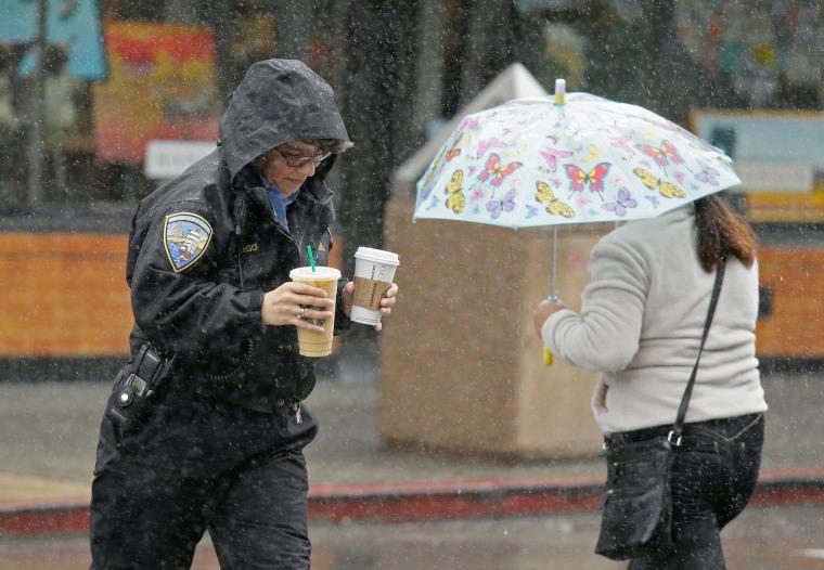 Image: APTOPIX California Storms
