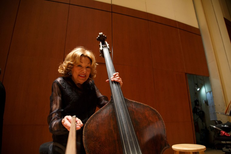 Jane Little, 87, is the world's longest-serving symphony musician, according to Guinness World Records.