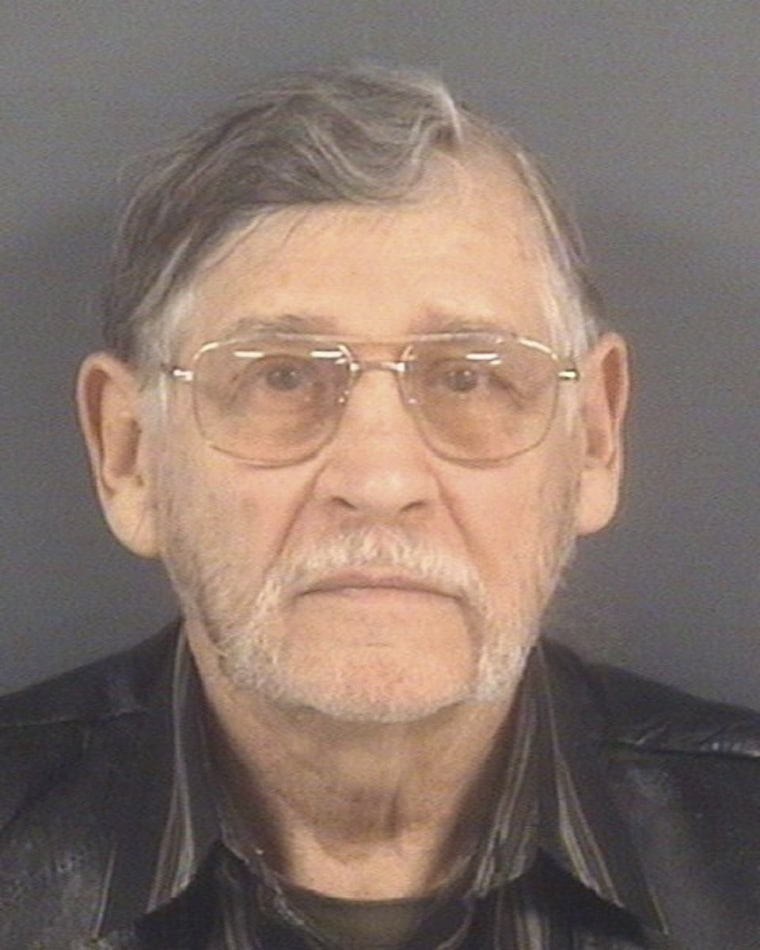 Image: Booking photo of John Franklin McGraw of Linden, N.C.