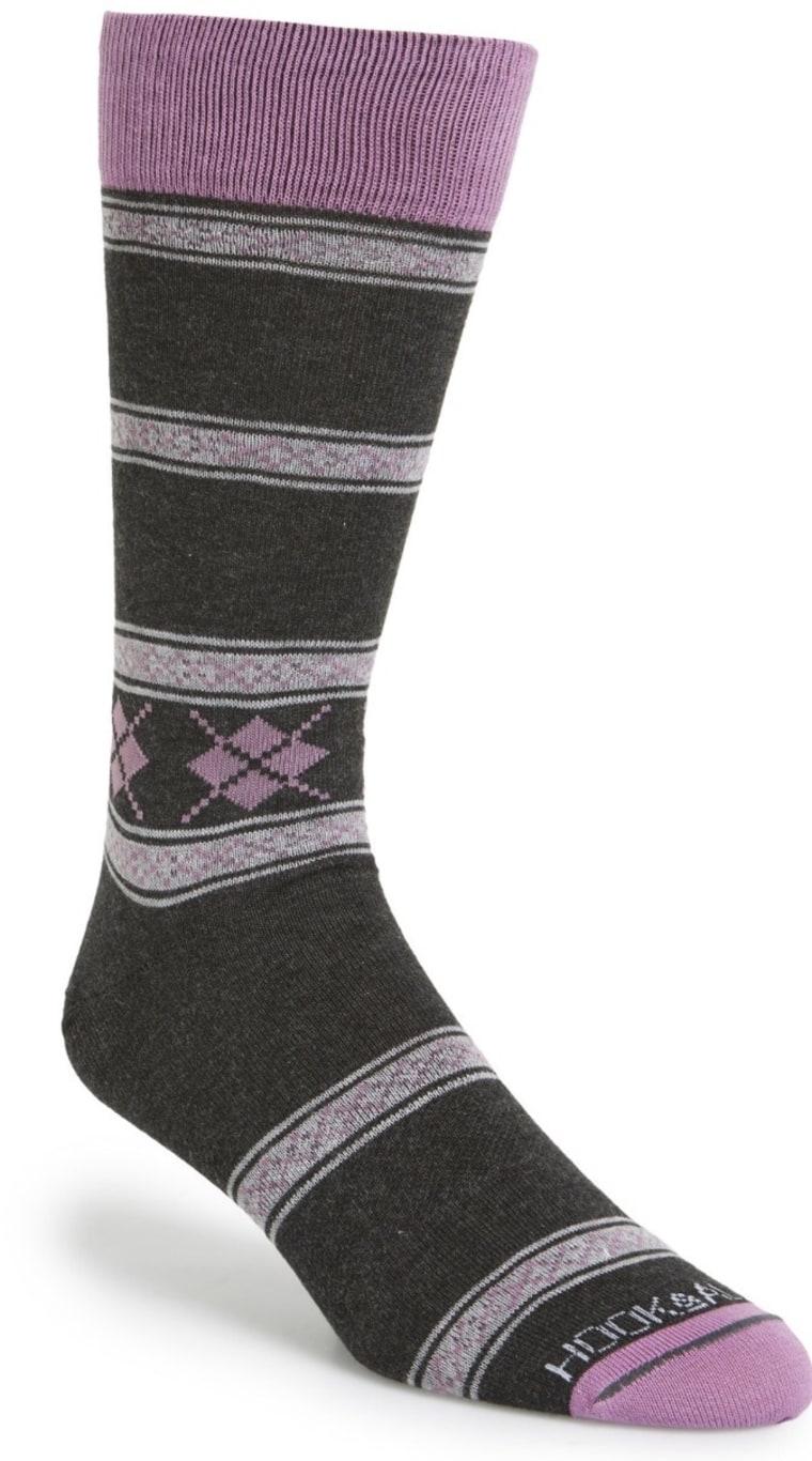 Fun suit socks