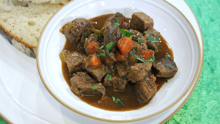 Donal Skehan makes beef and Irish stout stew for St. Patrick's Day