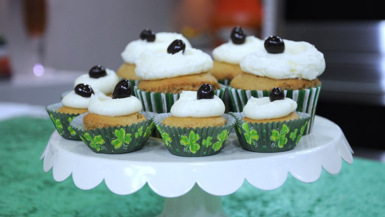 Donal Skehan makes Irish coffee cupcakes for St. Patrick's Day