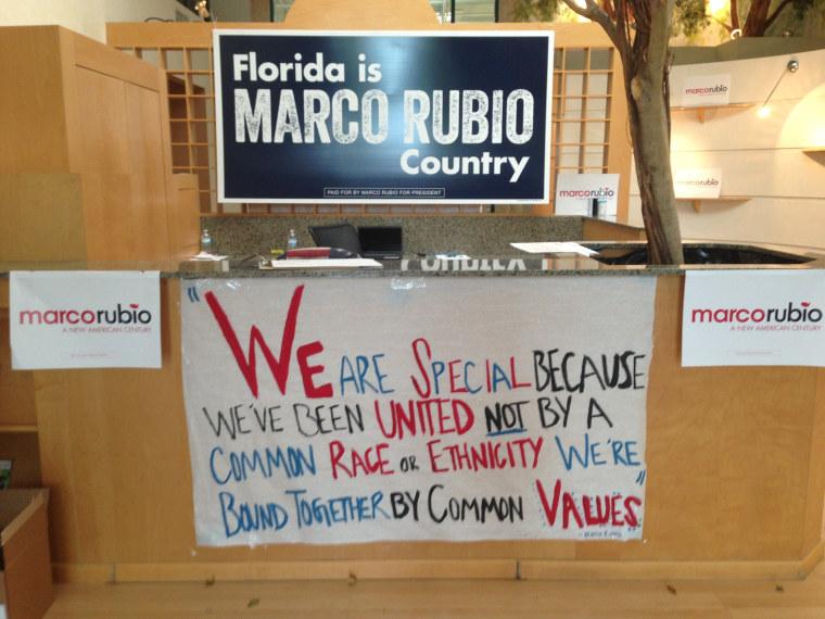 Image: Marco Rubio Orlando Offcie