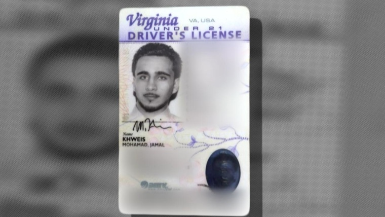 A driver's license obtained by Voice of America identifies a fighter detained in Iraq as Muhammed Jalal Khweis from Virginia.