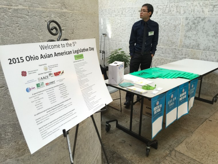 Special booths and tables around Ohio hope to make Asian Americans more politically aware. Asian-American organizations like to point to Ohio House Speaker Cliff Rosenberger and state Rep. Niraj Antani as examples of how Asian Americans can be political players in Ohio.
