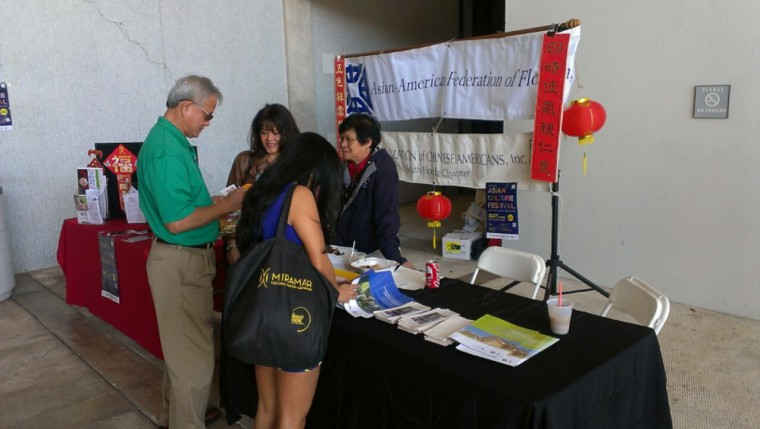 The Asian American Federation of Florida's outreach efforts focus on community events to grow the Asian-American vote.