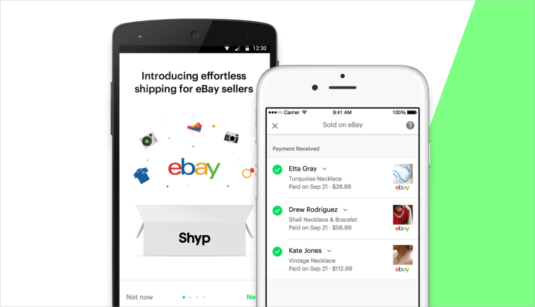 Too Lazy to Ship Your eBay Goods? Yep, Now There's an App For That