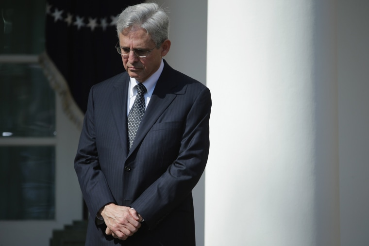 Image: President Obama Announces Merrick Garland As His Nominee To The Supreme Court