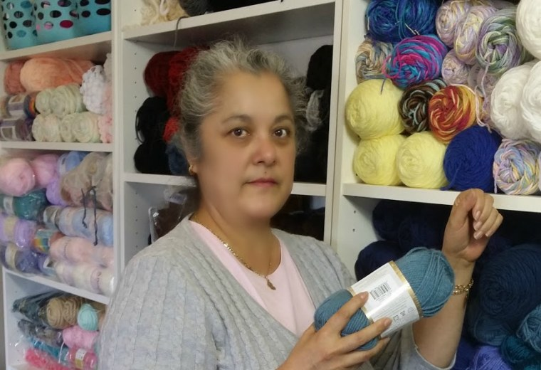 Image result for latinas knitting