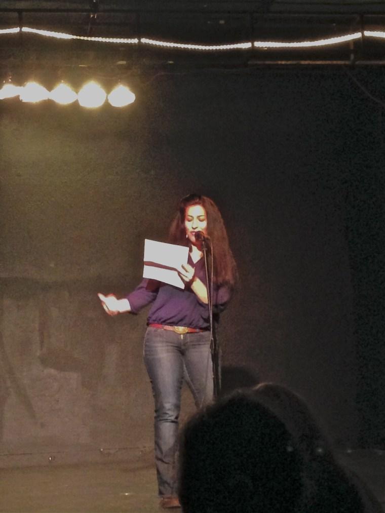 Ada performing in Seattle.
