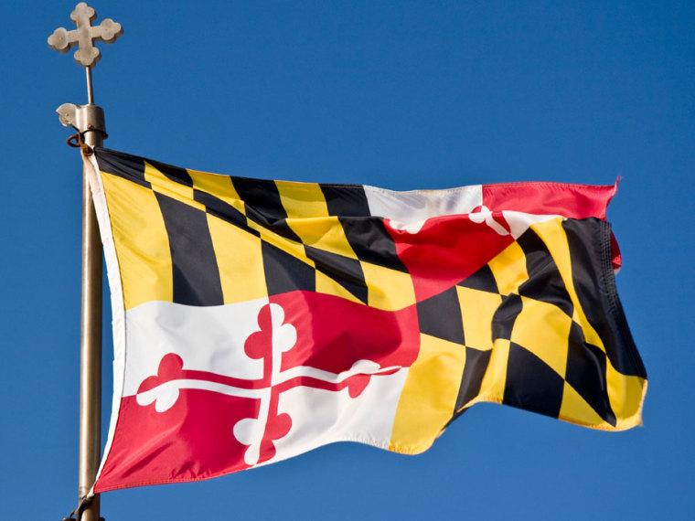 IMAGE: Maryland state flag
