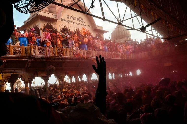 Image: TOPSHOT-INDIA-RELIGION-FESTIVAL-HOLI