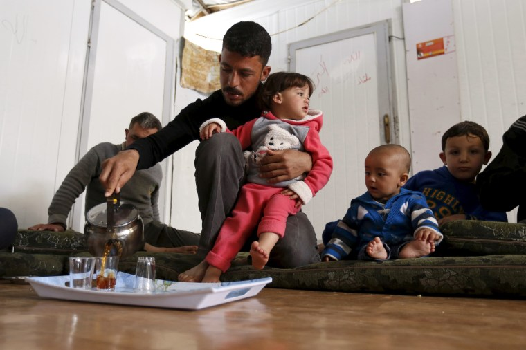 Image: The Wider Image: Born in a refugee camp