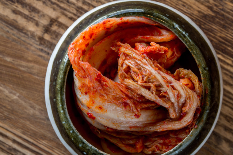 """Kimchi from the """"Koreatown"""" cookbook, taken from the Chicago leg of Hong and Rodbard's travels."""