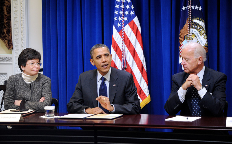 President Obama, VP Biden Meet With Democratic Governors