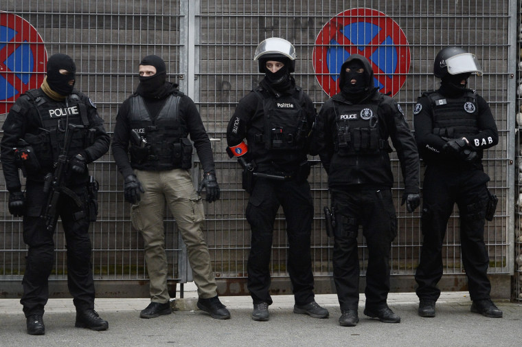 Image: BELGIUM-FRANCE-ATTACKS-POLICE