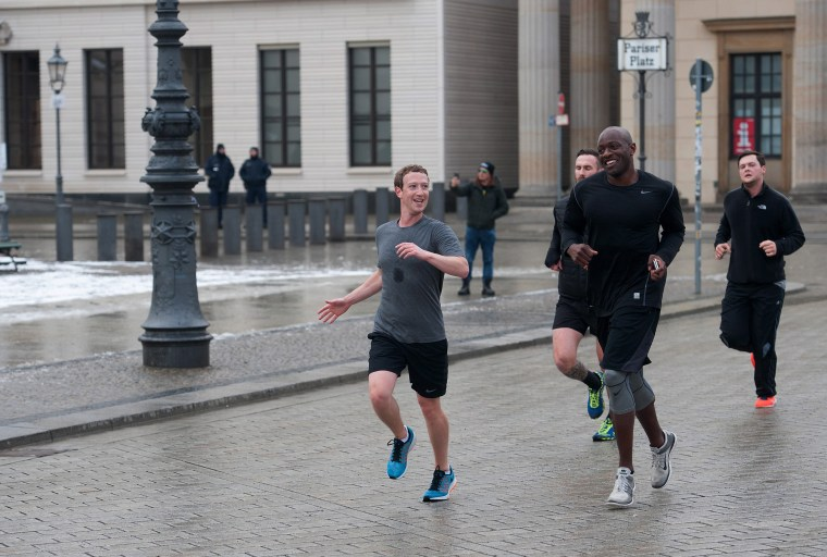 Image: Facebook CEO Zuckerberg in Berlin
