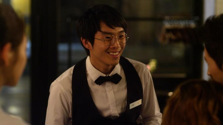 "Seth Ko, played by Justin Chon, in a still from ""Dramaworld"""