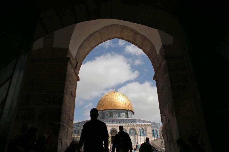 Image: TOPSHOT-PALESTINIAN-ISRAEL-CONFLICT-JERUSALEM