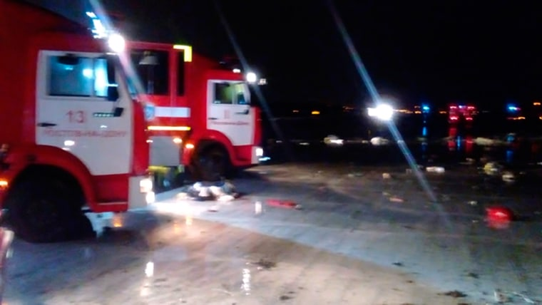 Image: Fly Dubai Flight FZ981 crashes in southern Russia