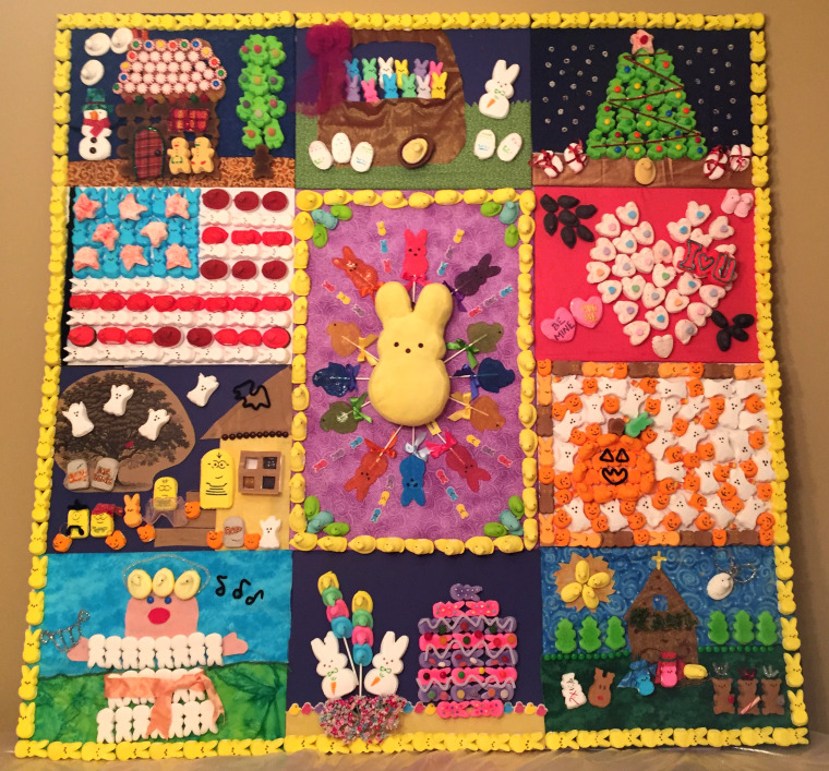 Patchwork Peeps - Not Just for Easter Any More