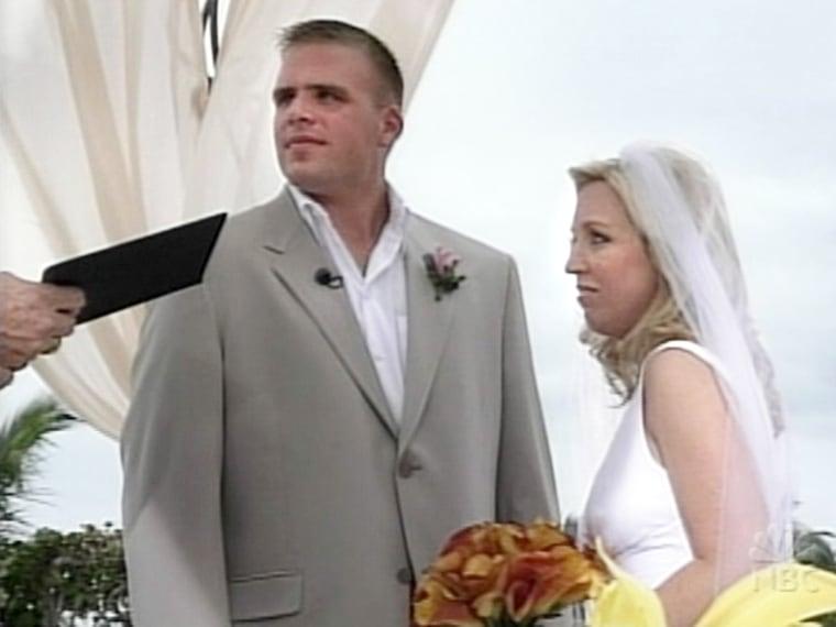"""TODAY Throws a Wedding 2004 couple: Nikki and Roger """"Buddy"""" Butler"""