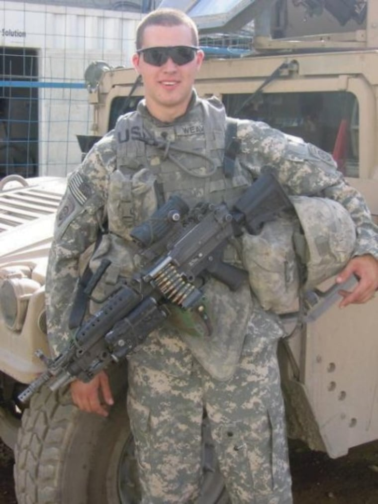 """Buddy in Iraq during """"the surge"""" in the spring of 2007."""