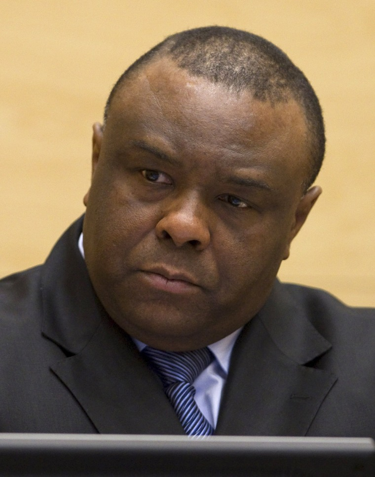 Image: File photo of Jean-Pierre Bemba at The Hague