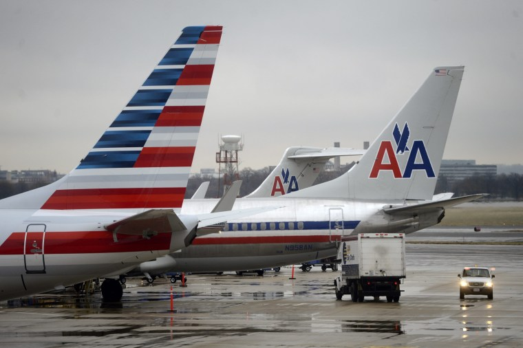 Image: American Airlines planes