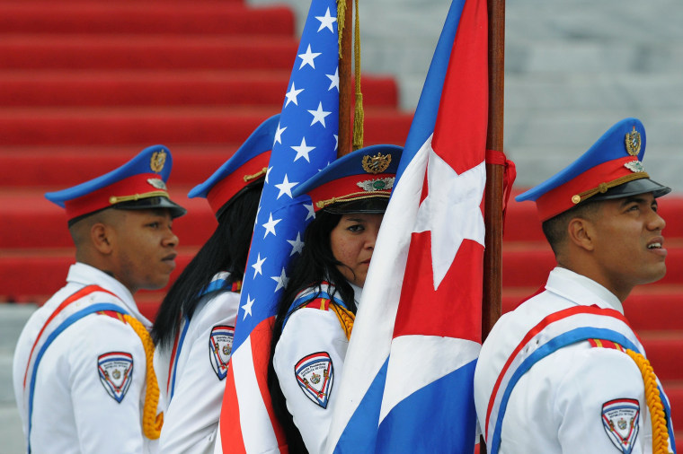 Image: TOPSHOT-CUBA-US-OBAMA-VISIT