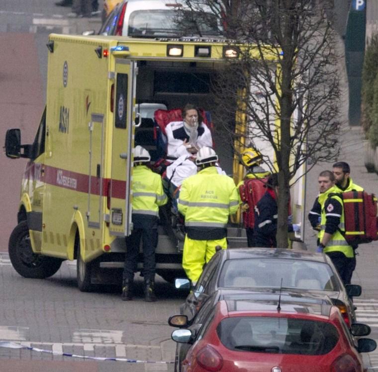 Image:  Maelbeek explosions