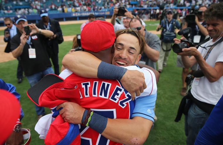 Image: President Obama Attends Tampa Bay Devil Rays v Cuban National Team Baseball Game In Havana