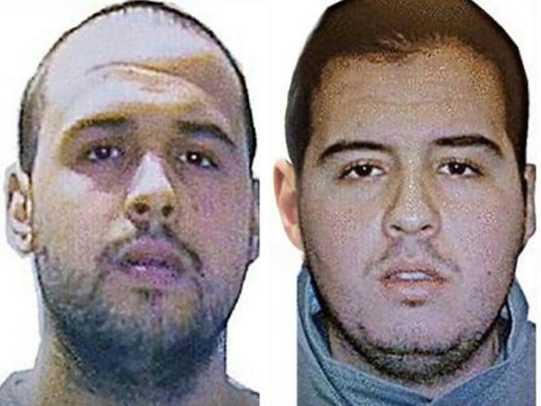 Image: Khalid El Bakraoui, left, and Ibrahim El Bakraoui